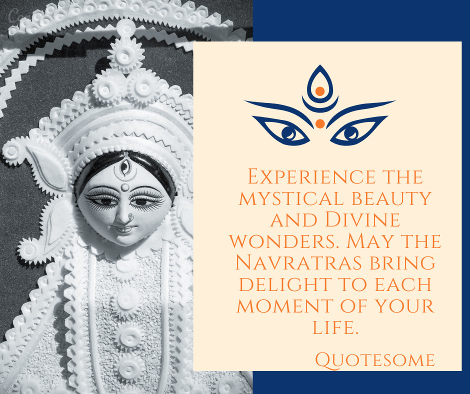 Experience the mystical beauty and Divine wonders. May the Navratras bring delight to each moment of your life.